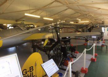 Solway Aviation Museum plane